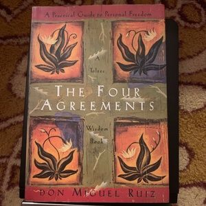 Other - The Four Agreements Paperback Book Don Miguel Ruiz